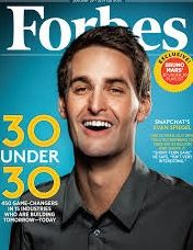 SnapChat's Evan Spiegel: youngest major media boss at 24